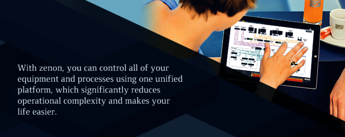 control all of your processes and equipment with zenon