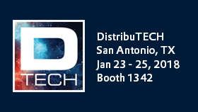 COPA-DATA at DistribuTECH 2018: driving digital transformation with zenon