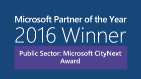 Zweifacher Sieger bei den 2016 Microsoft Partner of the Year Awards